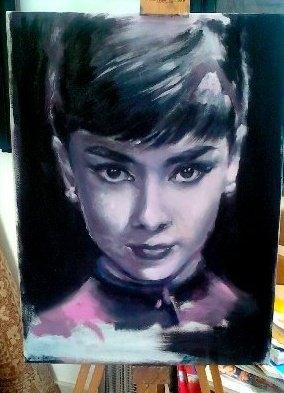 Audrey Hepburn by valib